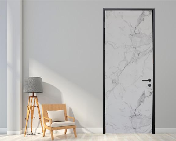 水晶钛瓷铝木门